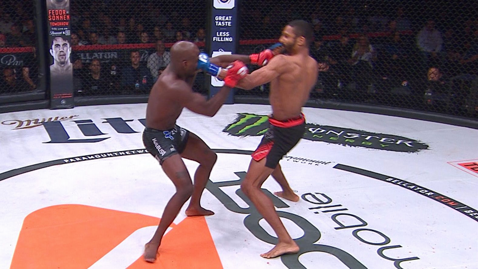 video of Carrington Banks vs. Mandel Nallo