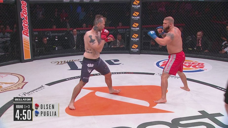 Jeremy Puglia vs  Eric Olsen - MMA Full Fight Video - Fedor vs  Sonnen