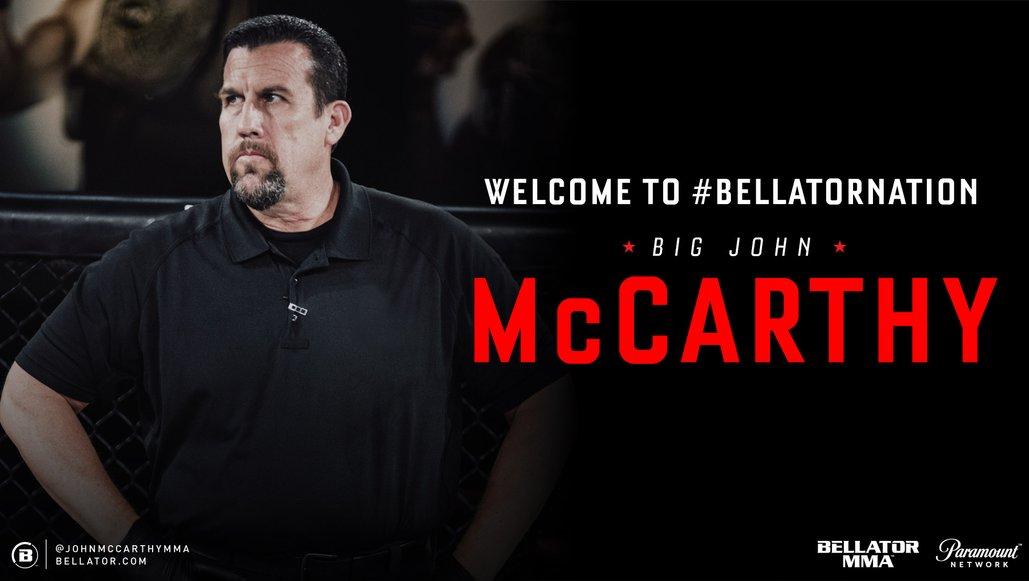 Big John Mccarthy To Join Bellator Broadcast Team Mma News From