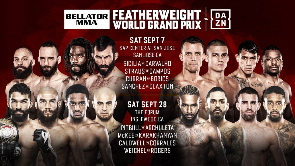 First Round Matchups Official For Bellator Featherweight