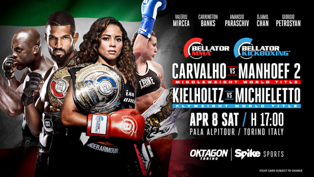 Updated Fight Cards and Photos From Today's Bellator 176 and ...