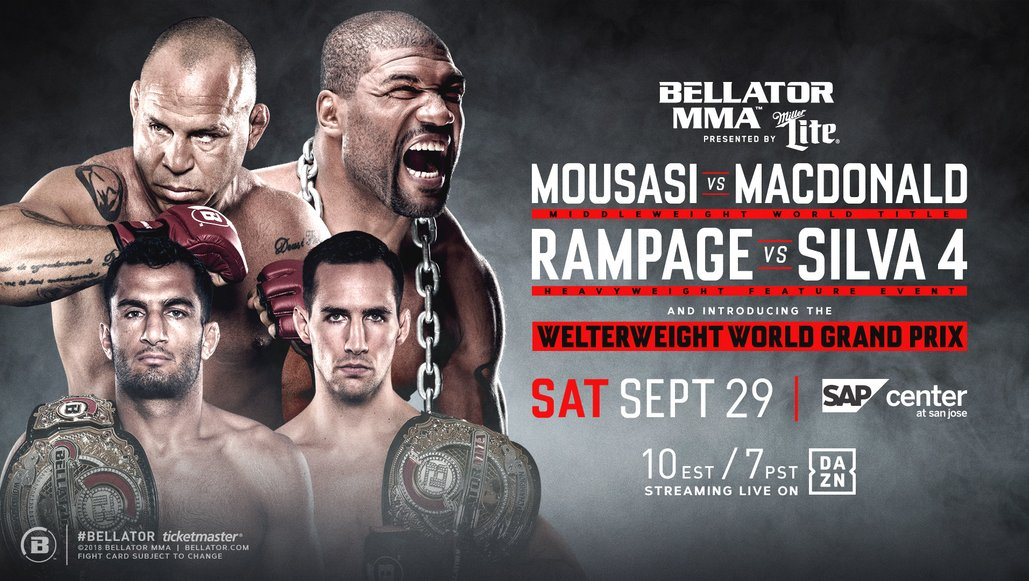 Bellator & DAZN sign nine-figure, multi-year distribution