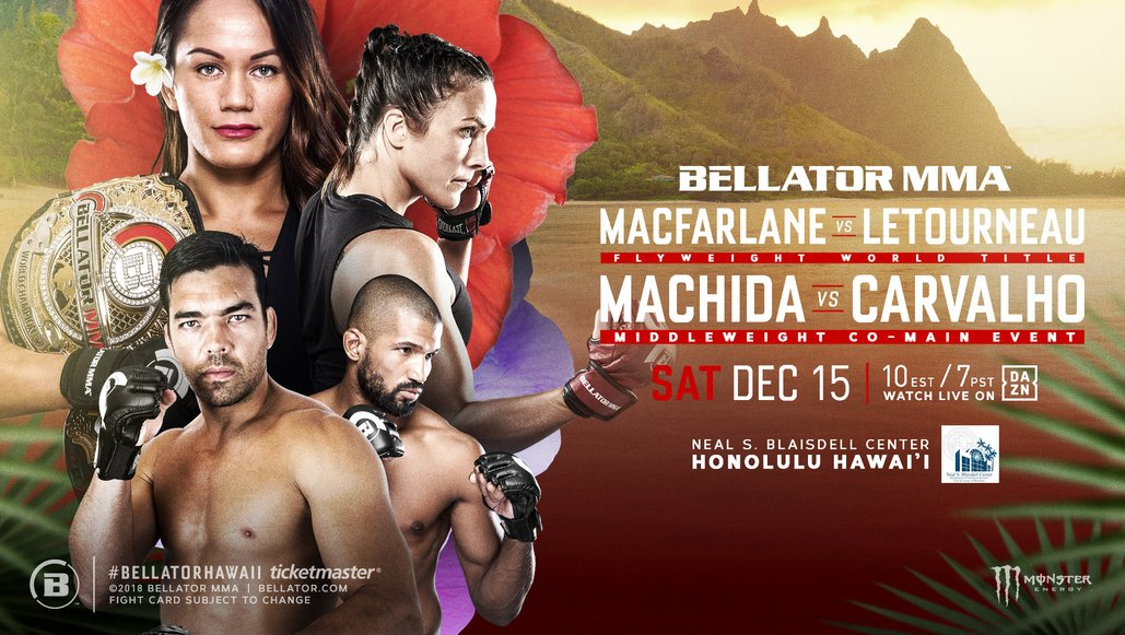 Bellator to Make Hawaii Debut on Dec  15 | MMA News from