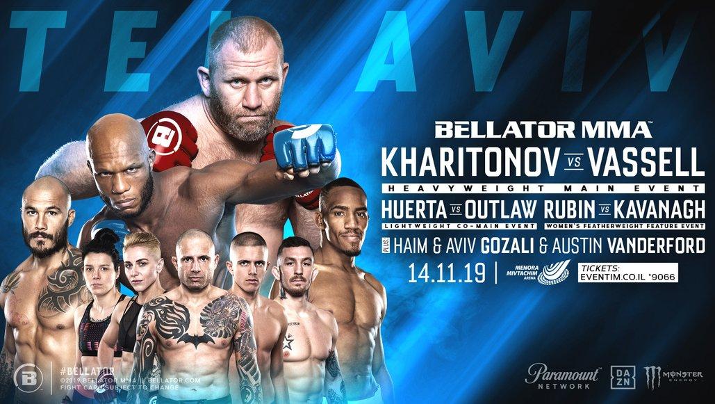 Heavyweights Sergei Kharitonov & Linton Vassell Headline