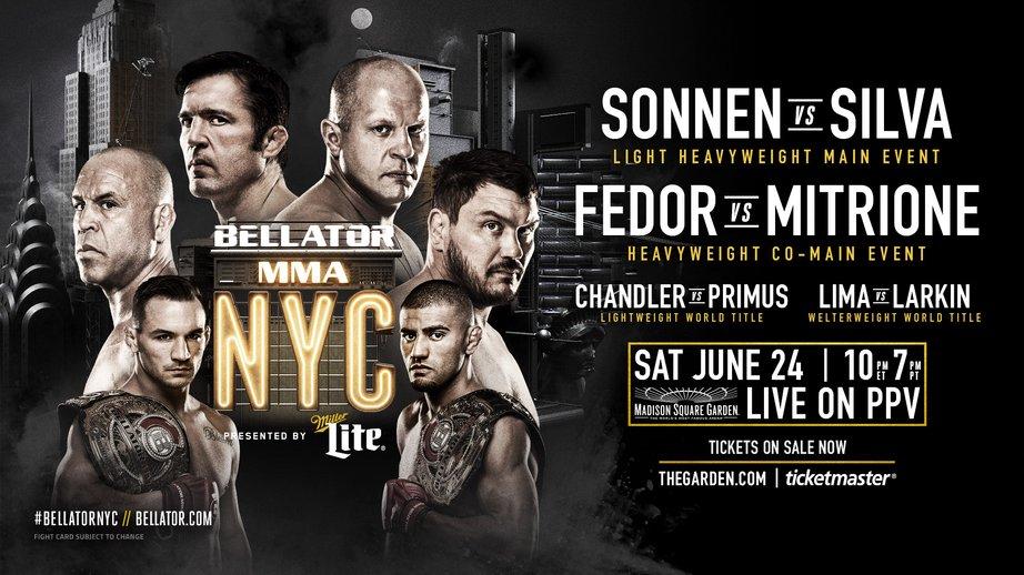 Картинки по запросу Bellator NYC